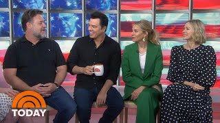 Russell Crowe, Naomi Watts And Co-Stars Talk Roger Ailes Series, 'The Loudest Voice' | TODAY