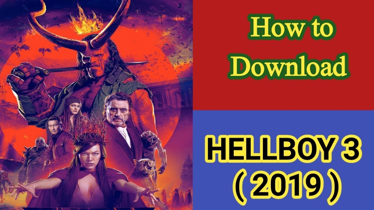 Download Hellboy 3 2019 || How to download Hellboy 3 2019 in Hindi dubbed audio