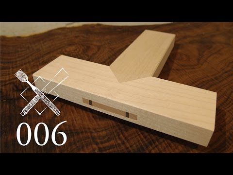 Joint Venture Ep. 6: Through tenon with blade tip miter (Chinese Joinery)