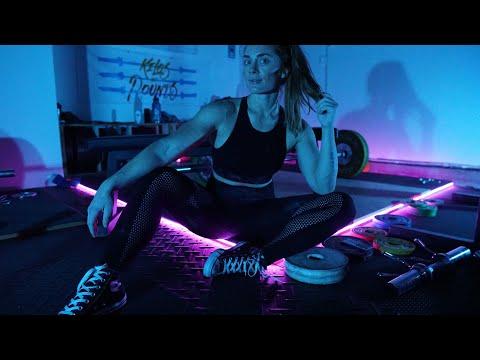 HOW TO BUILD A DISCO GYM - Home Gym LED Light Setup