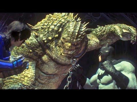 Abaixo da Superfície: DLC do Killer Croc + Easter Egg do Gorila Grodd no Batman Arkham Knight