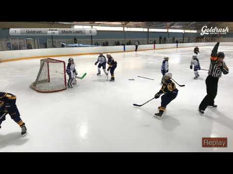 California GoldRush vs Maple Leafs SquirtBB