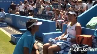 テニスクルム伊達公子vsハンチュコバ AEGONクラッシク 3回戦 ダニエラハンチュコバ 検索動画 5