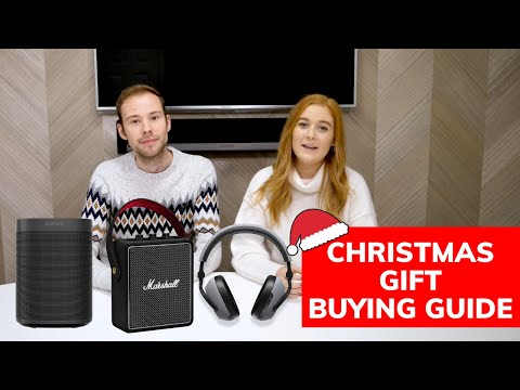 Top 12 Christmas Gifts for Music-Lovers   Feat. Sonos, Marshall, Amazon & more!