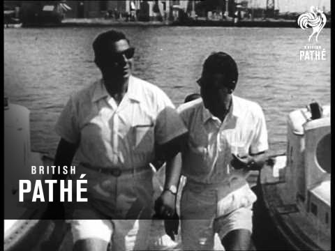 Red Pilots Guide Ships In Suez Canal (1956)