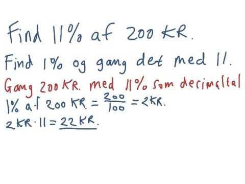 find procent