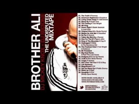 DJ Mickey Knox & DJ Six3one: Brother Ali- The Undisputed Mixtape