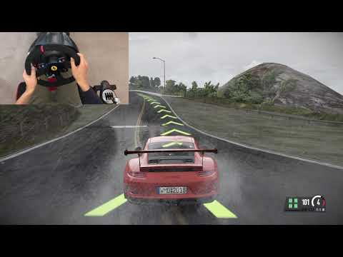 Project Cars 2  - T300RS  - California highway 1 Thunderstorm-  Porsche 911 GT3