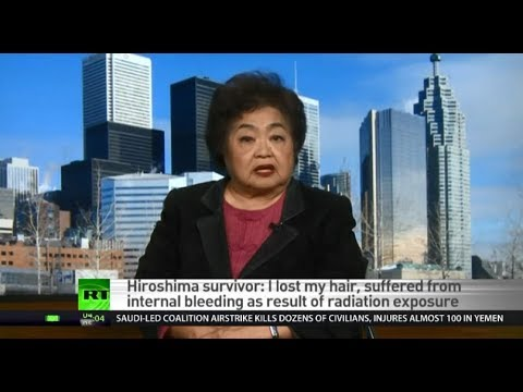 'Everybody in the city was exposed to radiation' - Hiroshima survivor
