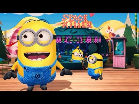 Despicable Me 2: Minion Rush Super Silly Fun Land Part 9 - Minion Fun Fair