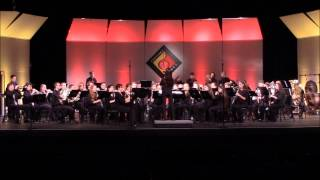 Hilton High School Wind Ensemble - The Boys Of The Old Brigade - Orlando, FL - April 25, 2015