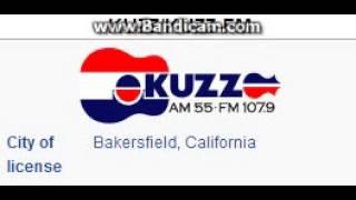 KUZZ 550 / KUZZ-FM 107.9 KUZZ Bakersfield, CA TOTH ID at 5:00 p.m. 7/26/2014