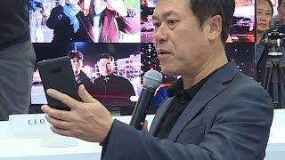 5G 첫 전파 송출 행사서 삼성 5G 단말기