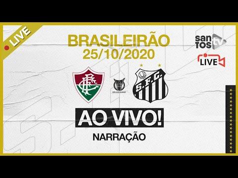 🔴 AO VIVO: FLUMINENSE 3 x 1 SANTOS | BRASILEIRÃO (25/10/20)
