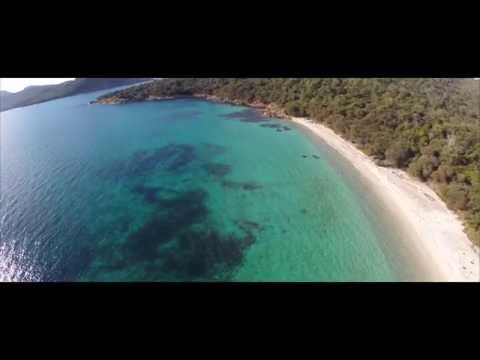 Amazing Footage - Drone Flight Over Tasmania