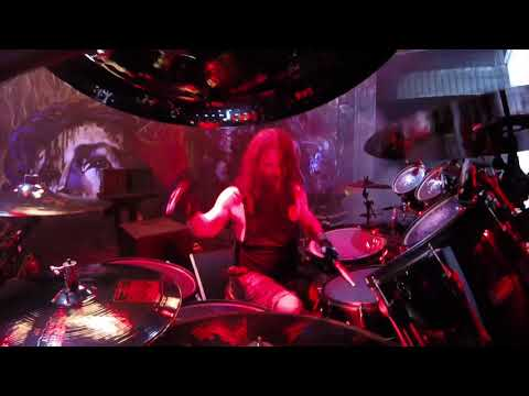 Paul Bostaph GoPro St. Augustine 2017 Born of Fire