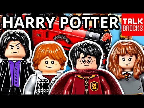 LEGO HARRY POTTER Summer Sets Official Pictures! Hogwarts Express! Quidditch Match! Whomping Willow!