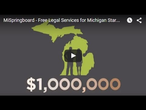 MiSpringboard - Free Legal Services for Michigan Startups