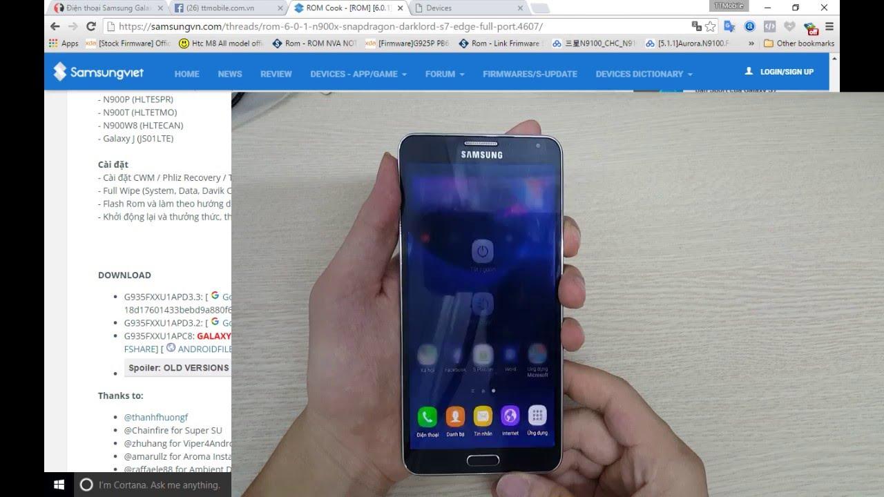 Hướng dẫn up rom Marshmallow 6.0 cho Samsung Galaxy Note 3 #1