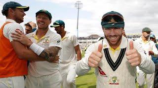 Raw vision: Aussies celebrate Edgbaston triumph