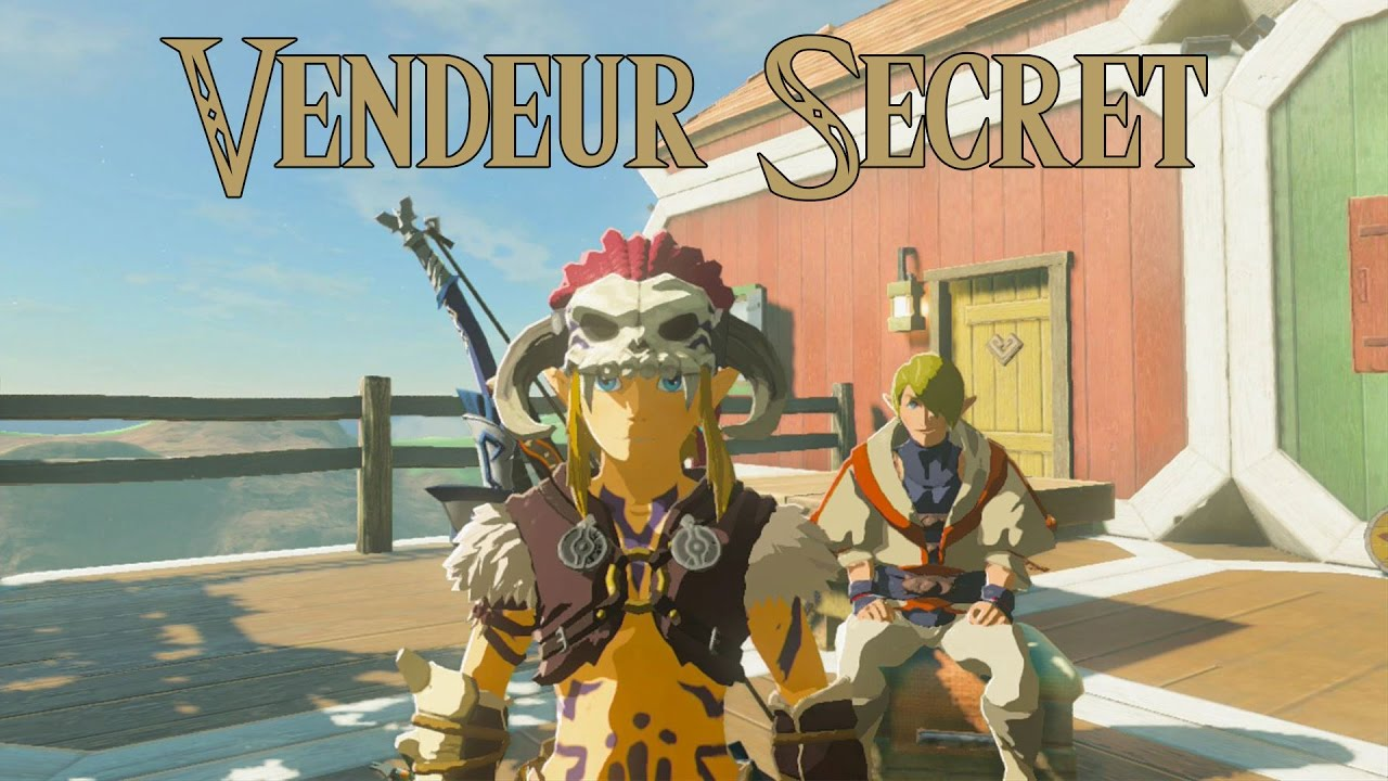 Astuce Zelda Breath of the Wild : Récupérer le bouclier