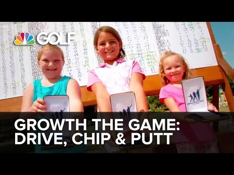 Drive Chip and Putt - Grow The Game of Golf
