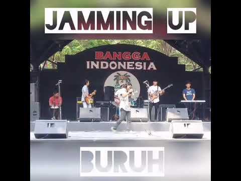 Jamming up- Buruh, live perform @pasarseniancol