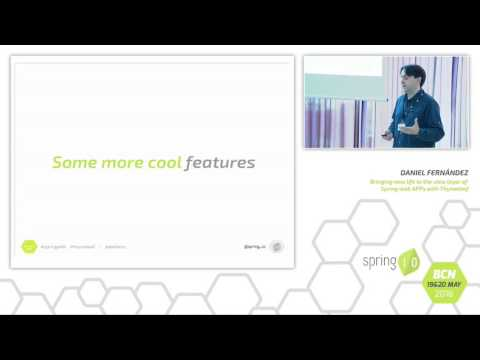 Bringing new life to the view layer of Spring web apps with Thymeleaf by Daniel Fernández