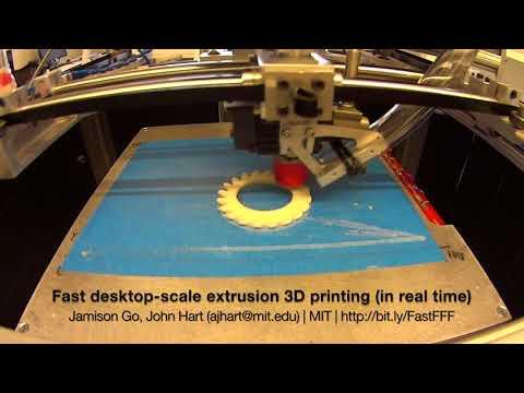 0 - MIT entwickelt 10-fach schnelleren 3D-Drucker