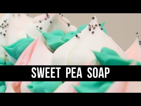 sweet-pea-soap-(+-russian-piping-tip-fail)-|-royalty-soaps