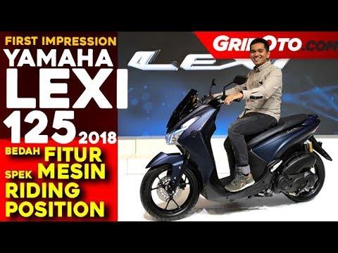 Yamaha Lexi 125 2018 l First Impression Review l GridOto