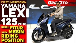 Yamaha Lexi 125 2018 l First Impression Review l GridOto