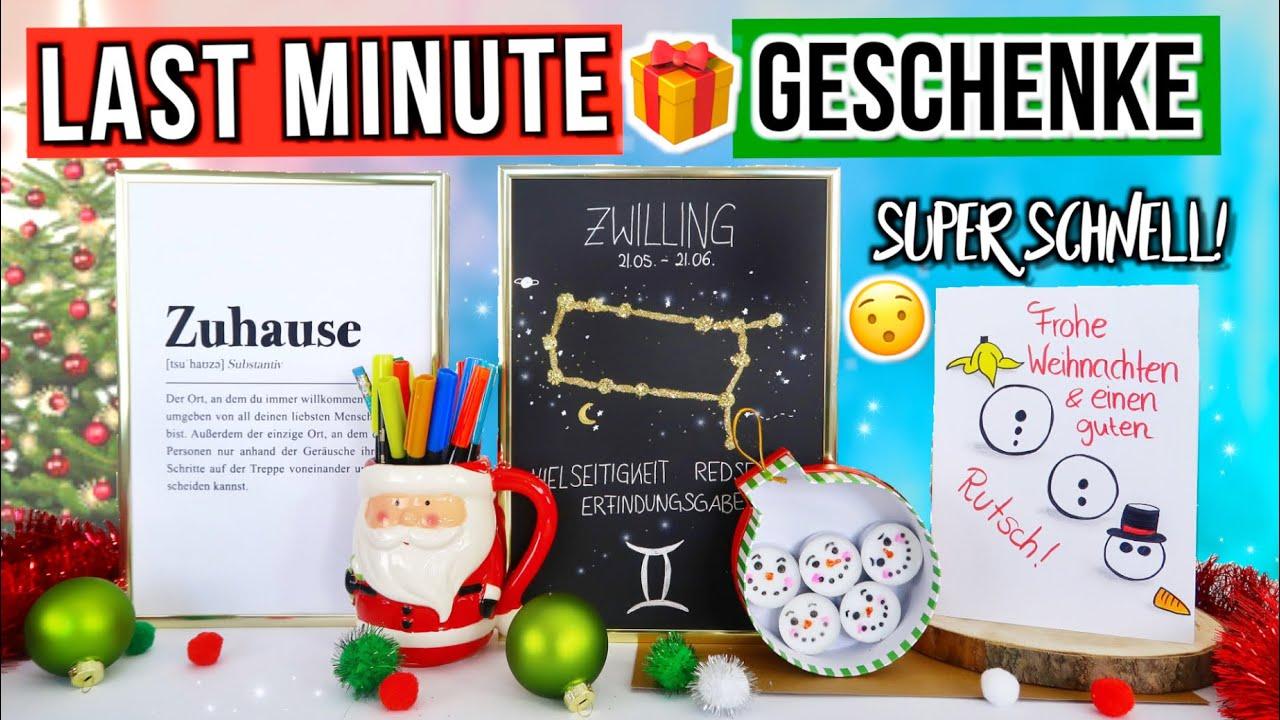 Diy Weihnachtsgeschenke Selber Machen Last Minute Geschenke Schnell Günstig Weihnachten 2019
