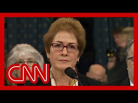Trump tweets attack on Marie Yovanovitch during hearing