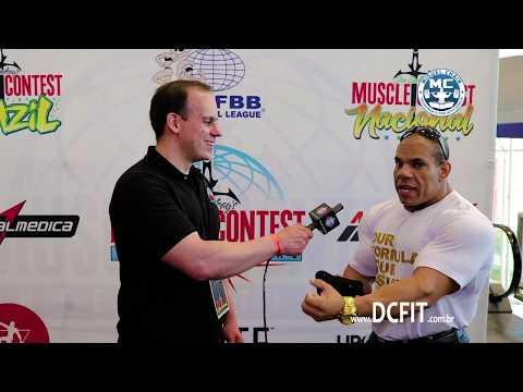 Entrevista Jorlan Vieira no Muscle Contest Brasil 2018 + Bonus