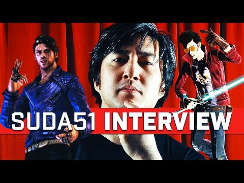 Suda51 talks No More Heroes, Shadows of the Damned, and Grasshopper Badminton?