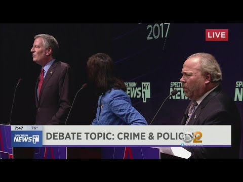 Mayoral Candidates Square Off In First General Debate