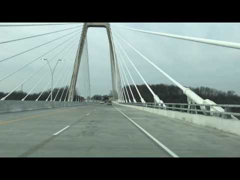 Travel across new East End bridge all new from Kentucky to Indiana
