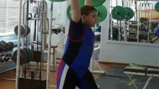 Бикмулин Илья, 11 лет, вк 77  Толчок 41 кг Есть личный рекорд!