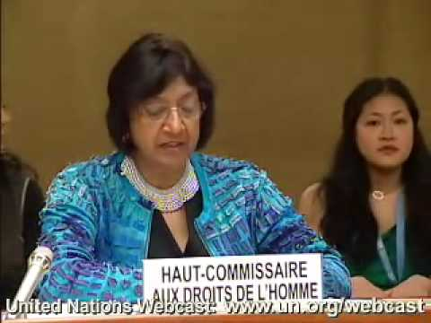 """""""Transcend your differences and find consensus"""" (Navi Pillay, High Commissioner for Human Rights )"""