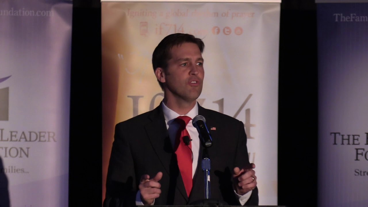 Ben Sasse - Celebrate The Family Banquet 2017 - YouTube