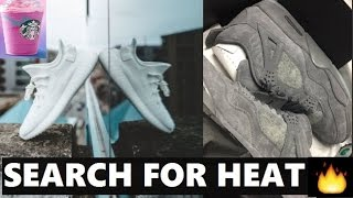 SEARCHING FOR KAWS AIR JORDAN 4 & ADIDAS YEEZYS + STARBUCKS UNICORN FRAPPACCINO REVIEW