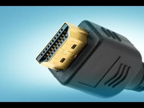 Инструкция по подключению компа к телевизору через кабель HDMI.