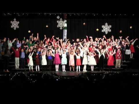 Isaac Tripp Elementary School Holiday Concert 2015