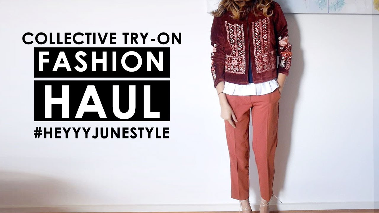 4f34c1af TRY-ON HAUL PT 2| Collective Fashion Haul (ASOS, Zara + more) - YouTube