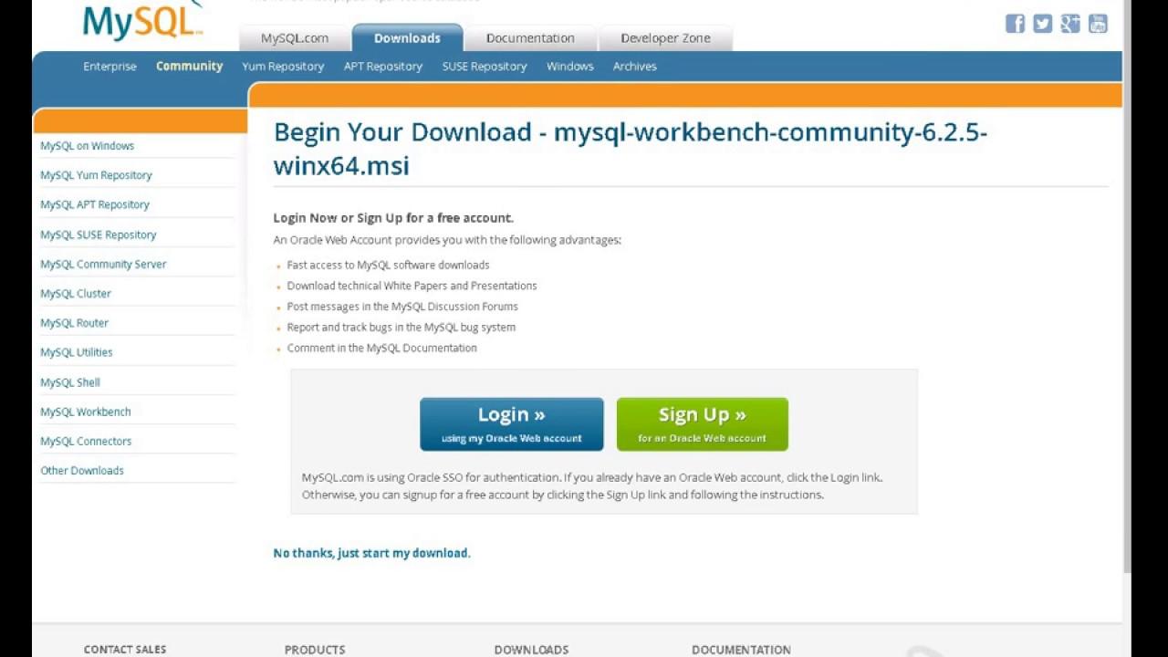 download free mysql