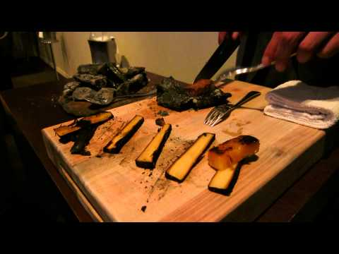 Tableside Preparation of Waygu Beef at Alinea