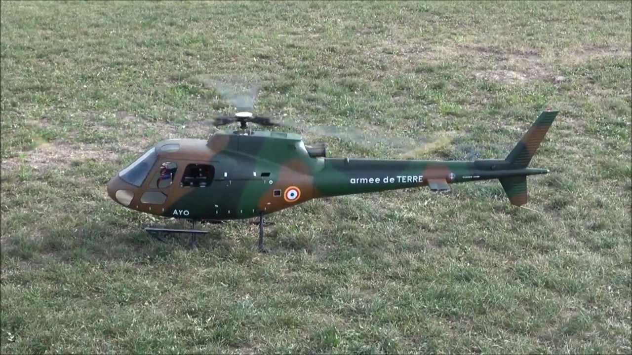 AS350 Military RC Helicopter