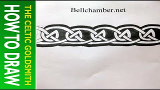 How to Draw Celtic Patterns 127 - Viking Interlace Triskele Part 6 of 6
