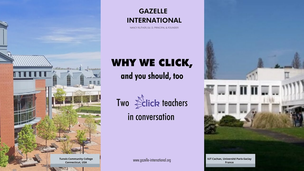 Why we CLICK... and you should, too!